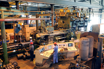 A section of the plant at Rusayl Industrial Estate