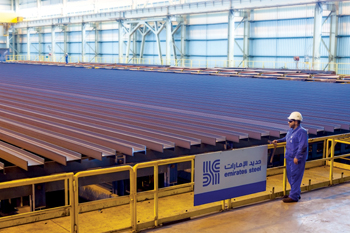 Emirates Steel will produce more value-added products to protect its bottom line