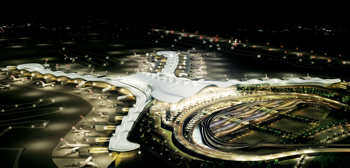 Kingspan was involved with the Abu Dhabi Airport Midfield Complex project