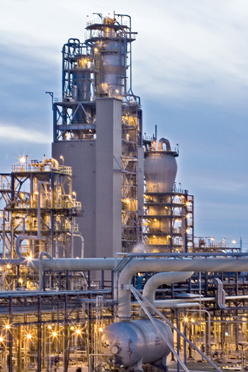 A plant of Equate, owner-operator of several integrated world-class petrochemical units