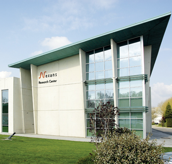 Nexans' research centre in Lyons, France