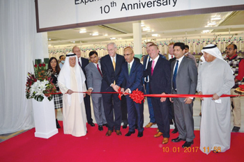 Officials at the inauguration of WestPoint's new facility in Bahrain